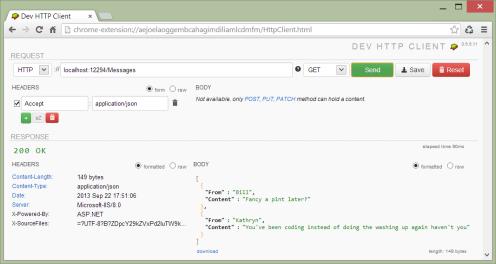 Dev http client